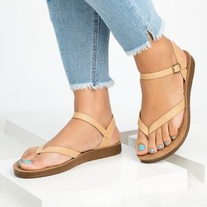 SunnyMia Shoes - Ashley Flat Sandals | 3 Colors
